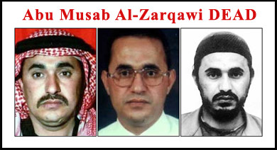 Fahndungsphotos Abu Musab al-Zarqawis